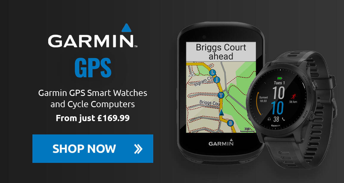 Garmin GPS Smart Watches and Cycle Computers from just £169.99