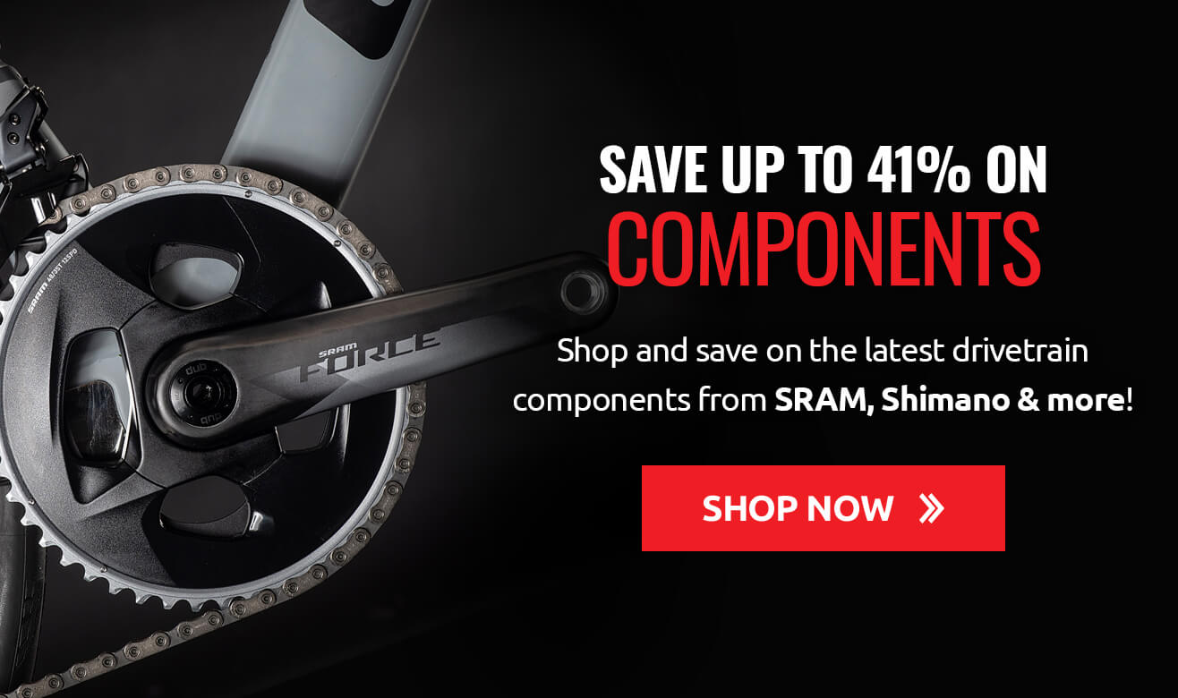Save up to 41% on Components!