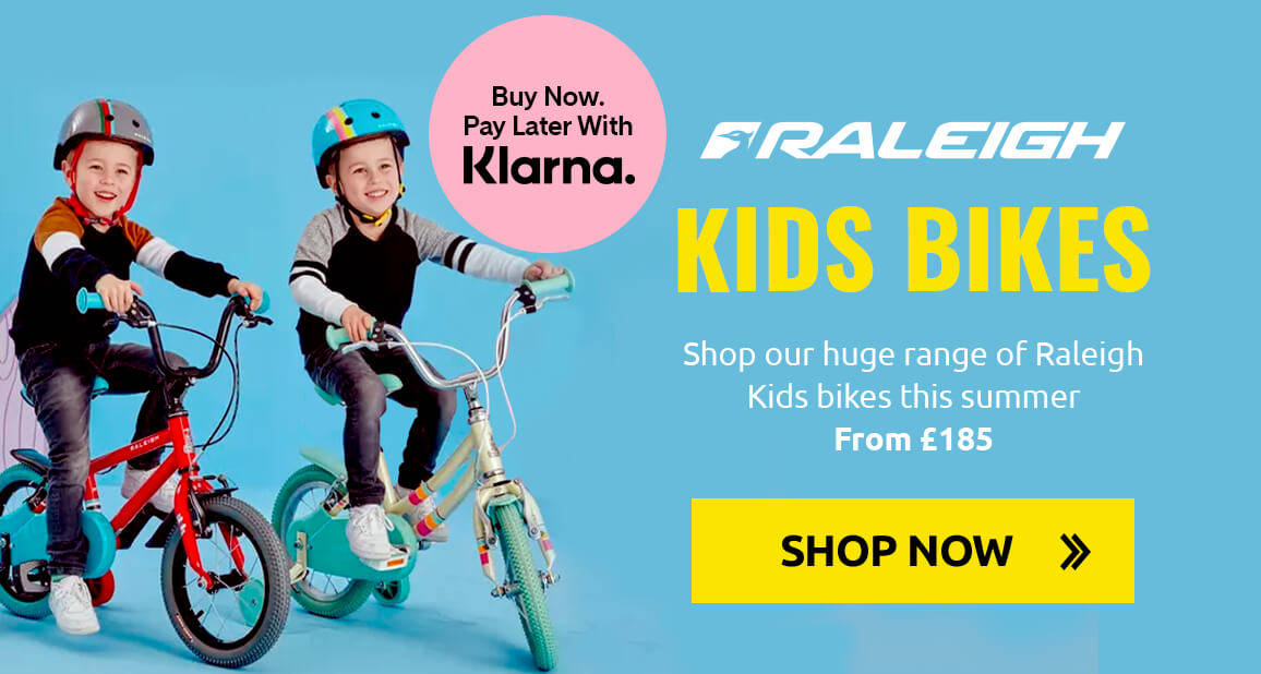 Shop our huge range of Raleigh Kids bikes this summer