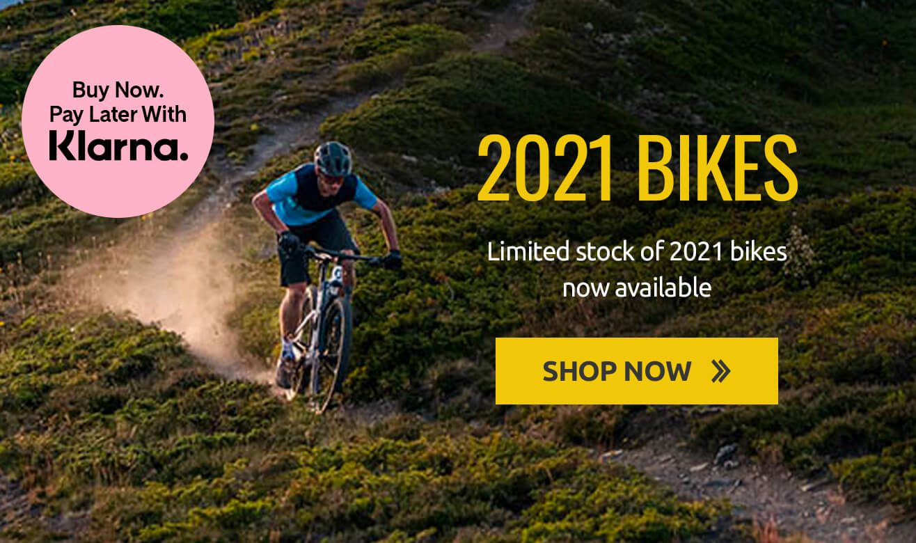 Shop New 2021 Bikes with Klarna