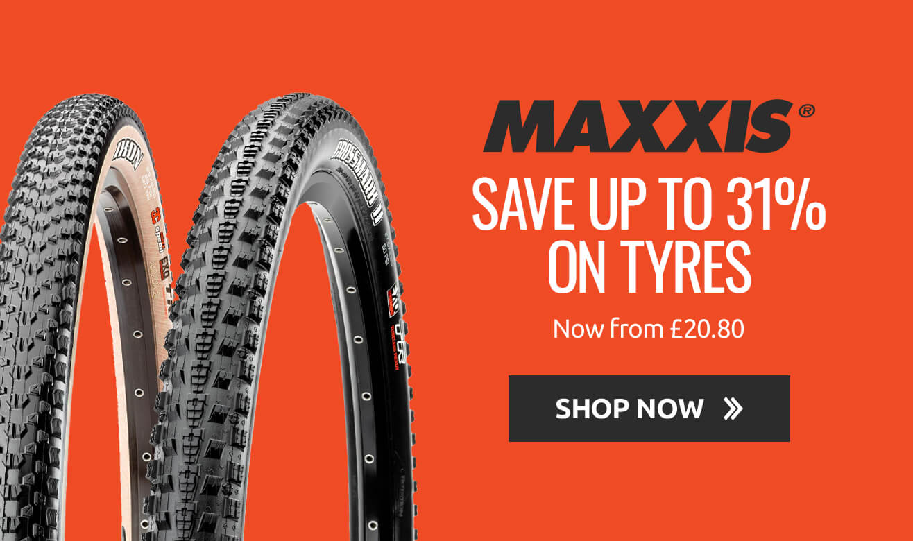 Save up to 31% on Maxxis Tyres