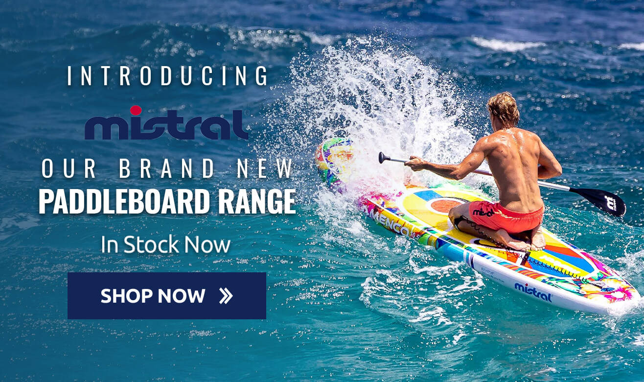Introducing Mistral - Our brand new Paddleboard range - In Stock Now