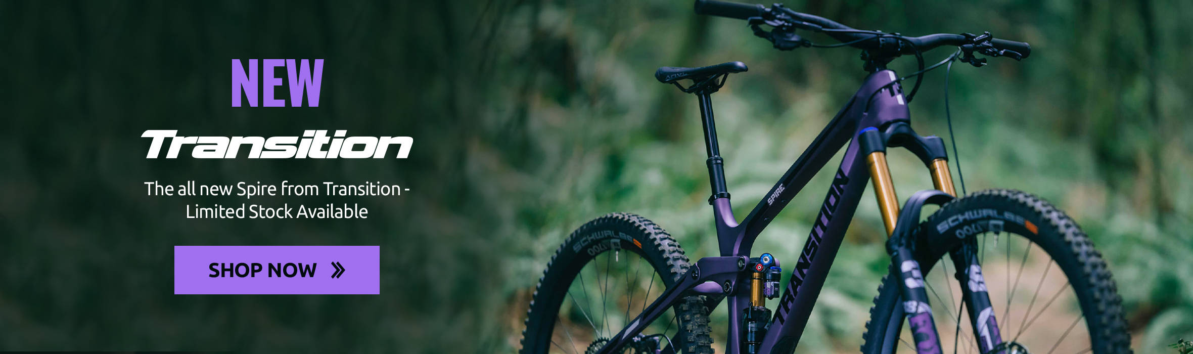 The all new Spire from Transition - Limited Stock Available