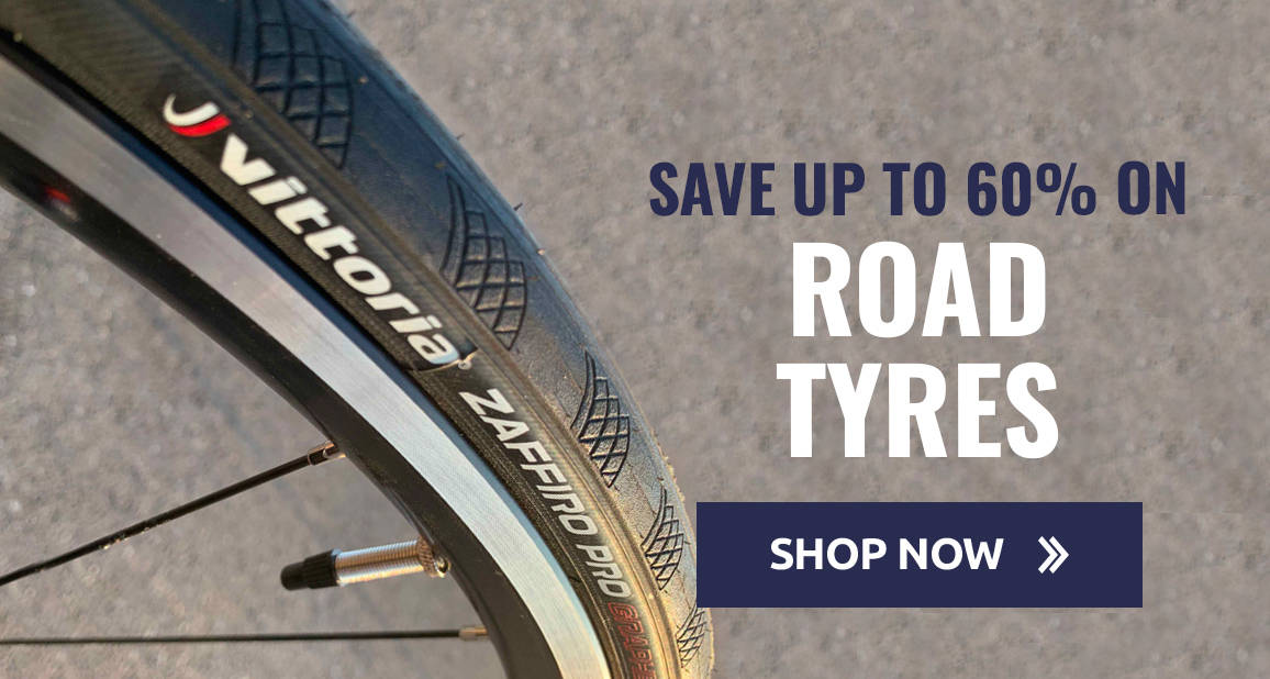 Save up to 60% on Road Tyres