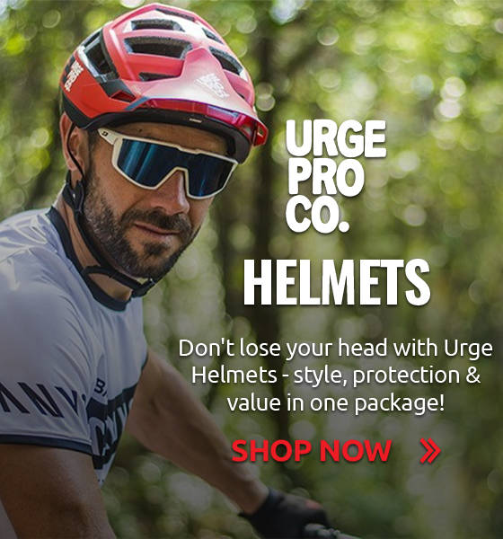 Don't lose your head with Urge Helmets - style, protection & value in one package!