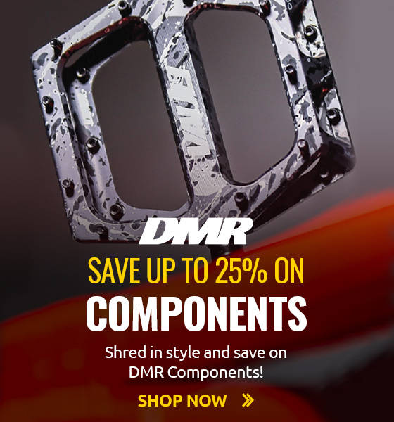 Shred in style and save up to 25% on DMR Components!