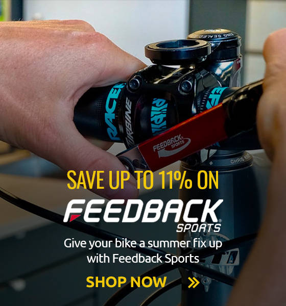 Give your bike a summer fix up with Feedback Sports