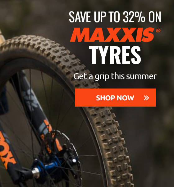 Get a grip this summer with up to 32% off Maxxis Tyres