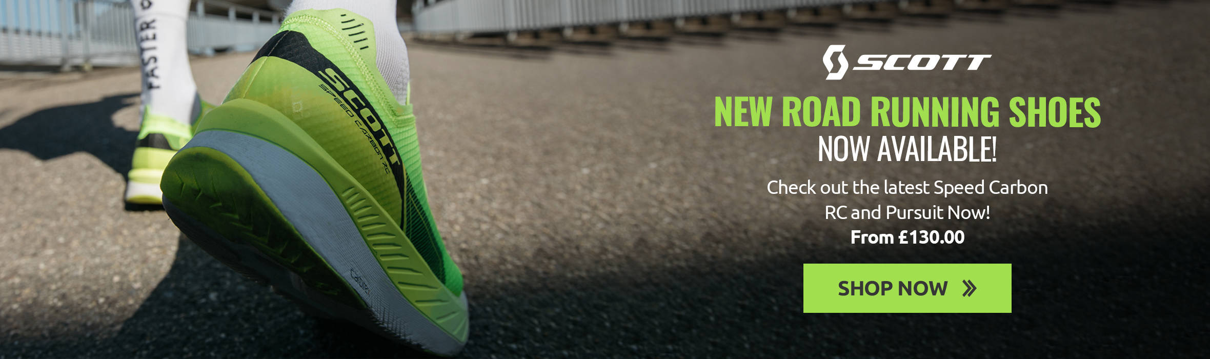 New Scott Road Running Shoes now available