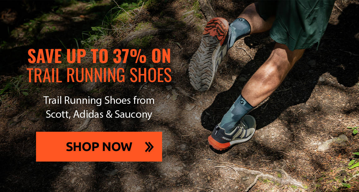 Save Up To 37% on Trail Running Shoes from Scott, Adidas & Saucony