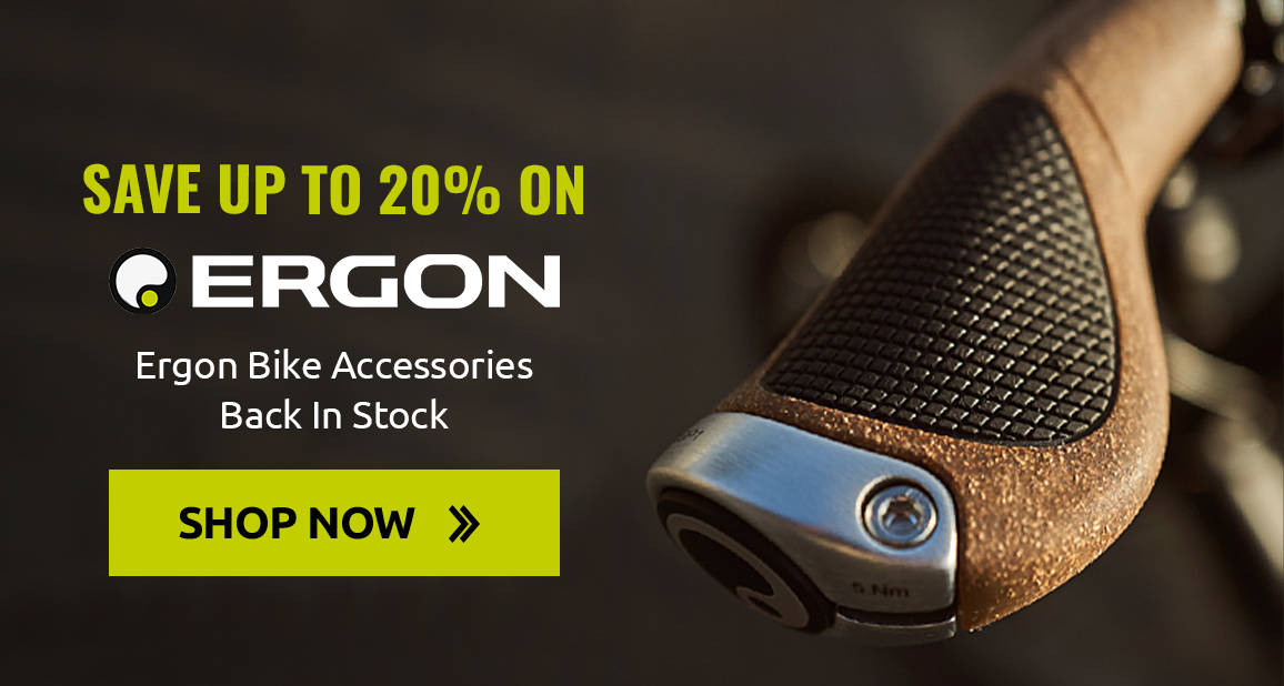 Ergon Bike Accessories - Back In Stock with Up To 20% off