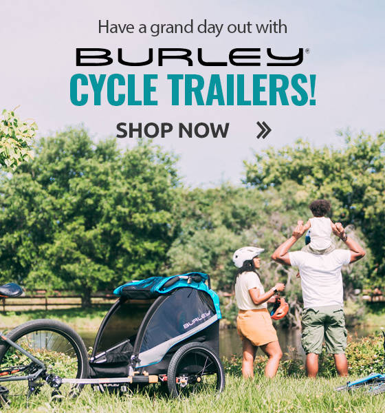 Have a grand day out with Burley Cycle Trailers!
