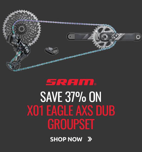 Save 37% on SRAM X01 Eagle AXS DUB Groupset