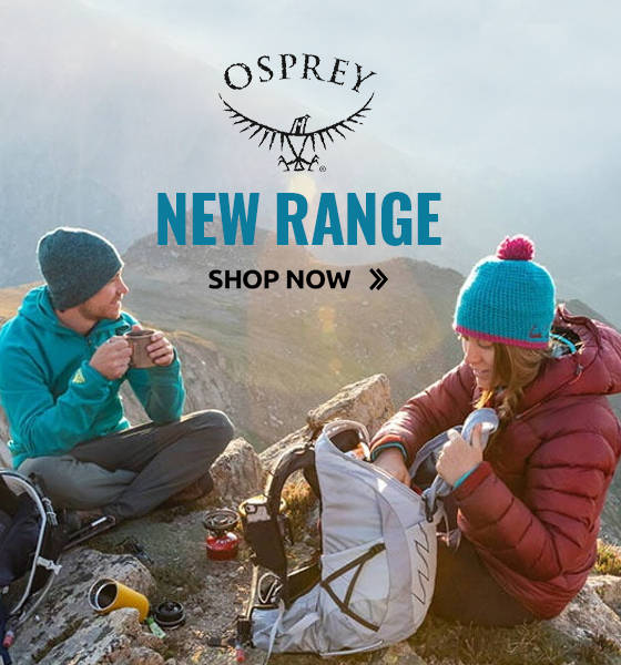 Shop Osprey bags from just £13.99!