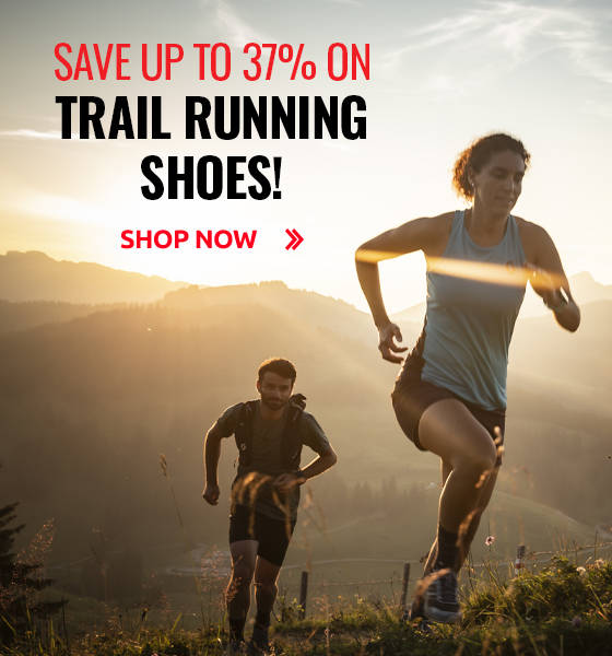Save up to 37% on Trail Running Shoes!