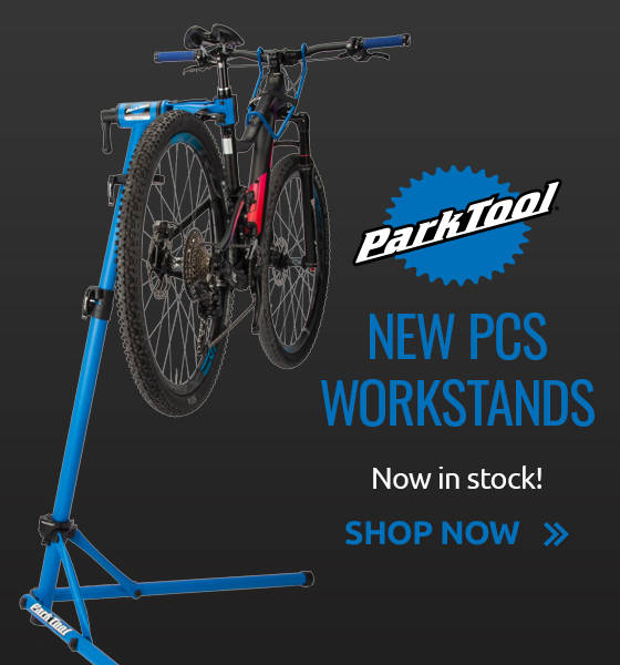 New Park Tool PCS Workstands now in stock!