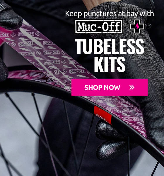 Keep punctures at bay with Muc-Off Tubeless kits!