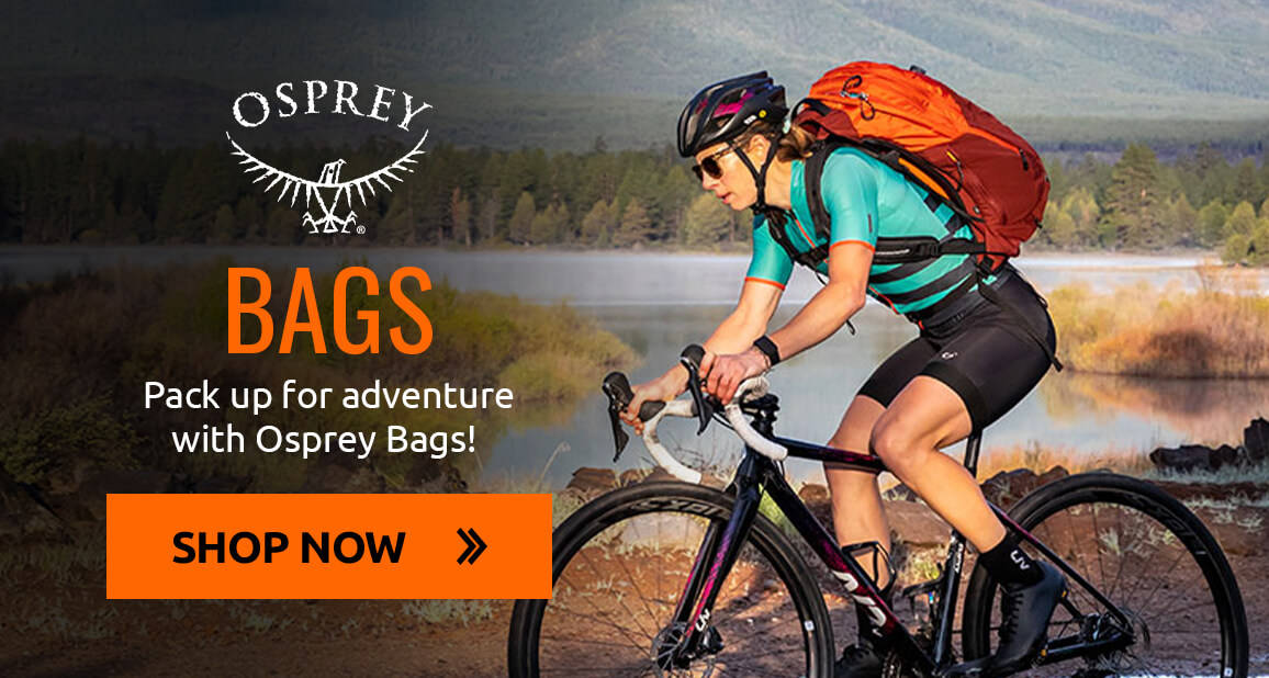 Pack up for adventure with Osprey bags!