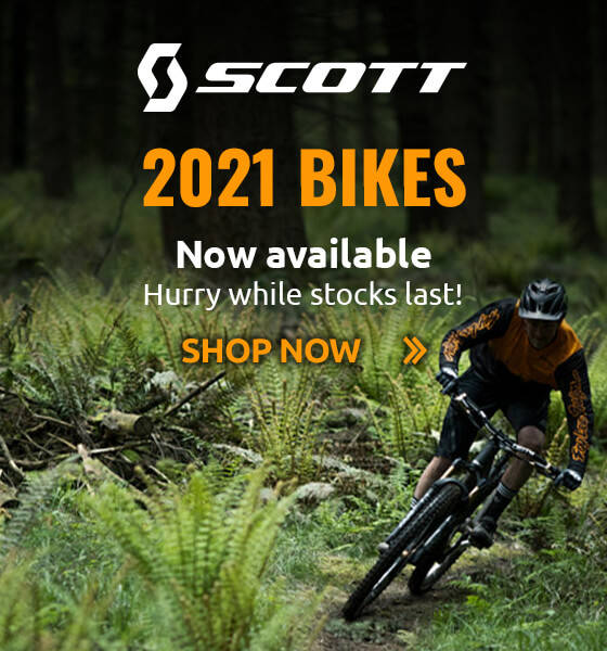 2021 Scott Bikes Now Available - Hurry While Stocks Last!