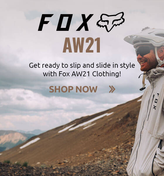 Get ready to slip and slide in style with Fox AW21 Clothing!
