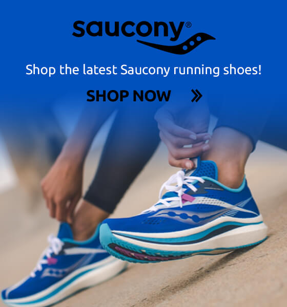 Save up to 21% on Saucony running shoes!